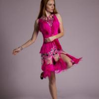 Ar Deco inspired latin dress