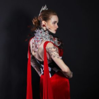 Red Queen Gown